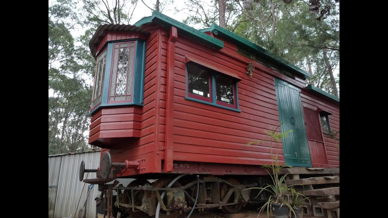 Beautiful The Little Red Train Carriage ( Minimalist Living )
