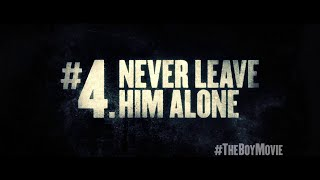 THE BOY Rule #4 - Never Leave Him Alone (In cinemas 21 Jan 2016)