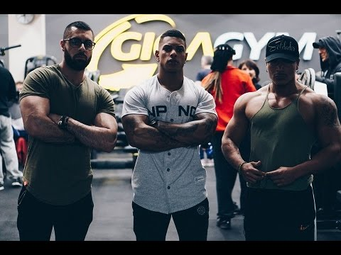 Physique update series Ep 2 - Marvin Tilliere & Santiago - Gigagym 13 - Achzod - Biceps triceps
