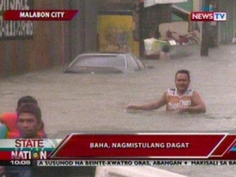 SONA: Baha sa Malabon, nagmistulang dagat