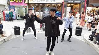 킹덤즈(Kingdoms)/ HER-블락비(Block B) 20190909 홍대(HongDae) 버스킹(Bus…