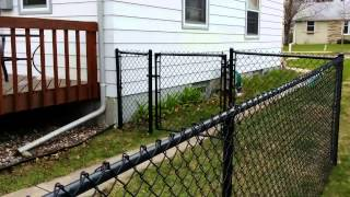 Black Chain Link Fence Company Minneapolis, MN