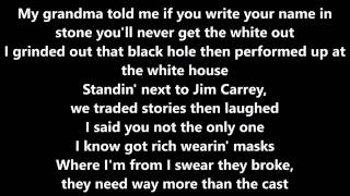Big Sean - One Man Can Change the World (Lyrics)