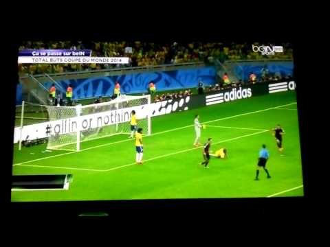 Bresil 1-7 Allemagne Commentaires Bein Sport France