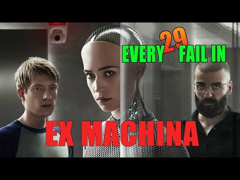 Every Fail In Ex Machina | Everything Wrong With Ex Machina, Mistakes and Goofs