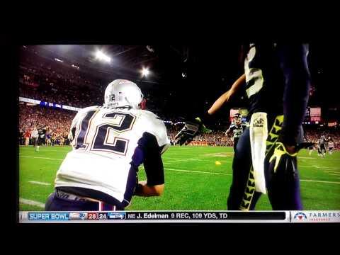 Super Bowl 49 - Brady & Sherman