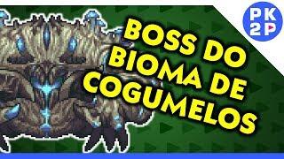 TERRARIA ► Caranguejo Cogumelo Monstruoso Crabulom! Calamity Boss Rush#04