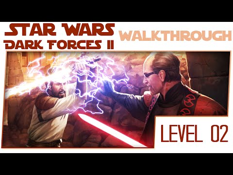 Star Wars Dark Forces 2 HD Remake No Commentary Walkthrough - Level 2 - The Lost Disk