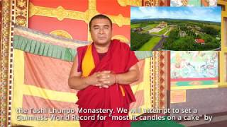 Setting a World Record for the 11th Panchen Lama's 29th Birthday
