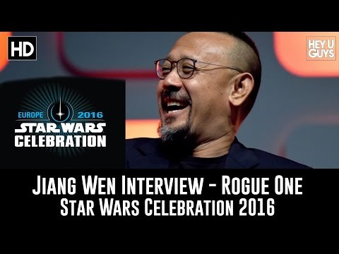 Jiang Wen Rogue One Panel Interview - Star Wars Celebration 2016