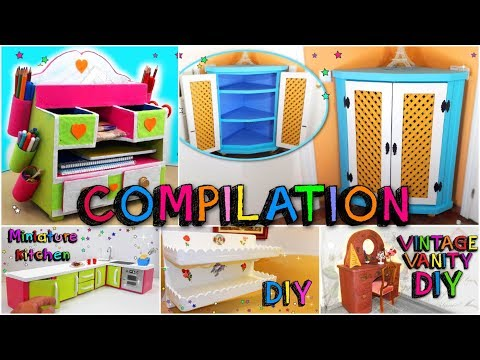 Awesome CRAFT Compilation 5 DIYs only using cardboard boxes Mr DIY