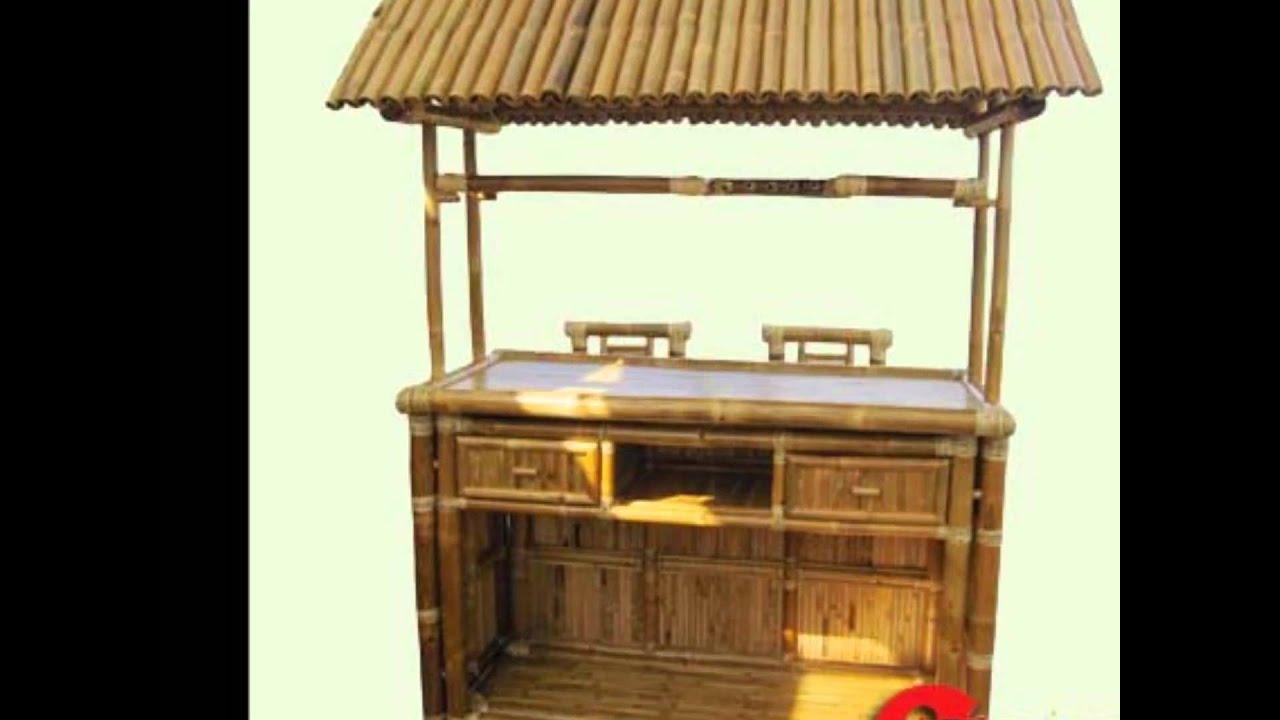 Afford a bar-tropical bamboo-tiki bar(8'.hx5.1/2'.lx3.5.w ... on Backyard Tiki Bar For Sale id=40220