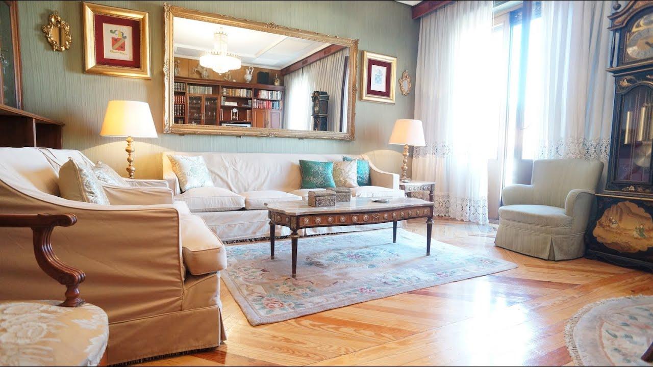 M 41 00429 alquiler piso madrid amueblado estilo for Alquiler piso barrio salamanca