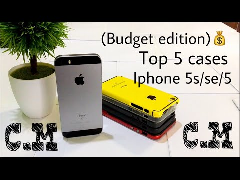 Top 5 cases for iphone se/5s/5|Budget Edition|