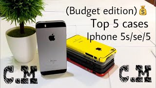 Top 5 cases for iphone se 5s 5 Budget Edition