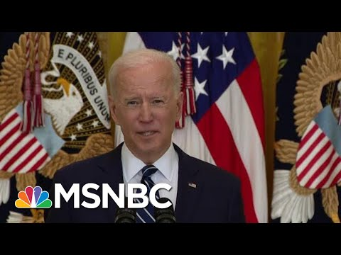'I Miss Him': Biden Mocks Trump And Crushes McConnell In First WH Presser | The Beat With Ari Melber
