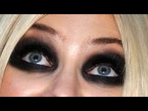 Heavy eye makeup tutorial