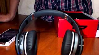Unboxing replicas audifonos Solo HD Monster Beats bluetooth