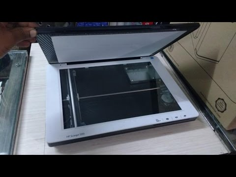 HP Scanjet 200 Scanner Review & Hands On - YouTube