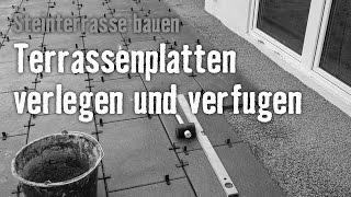 Gambar cover Version 2013 Steinterrasse bauen - Kapitel 5: Terrassenplatten verlegen & verfugen