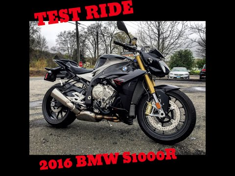2016 BMW S1000R Test Ride