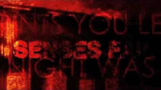 Senses Fail - New Years Eve [Official Lyric Video]