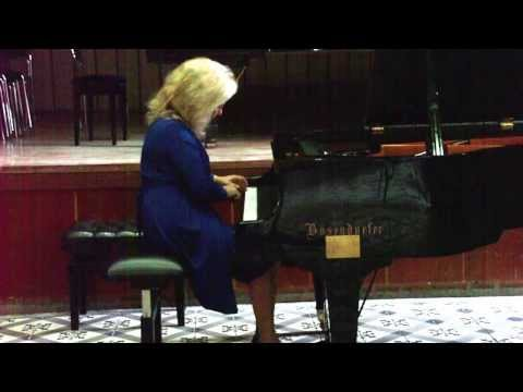 Ganka Nedelcheva performs Dimiter Christoff's Nocturne No 2