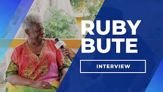 Interview with Ruby Bute