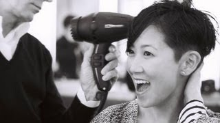 Chopped: Christina Han's Haircut - new skater style by hairstylist Garren