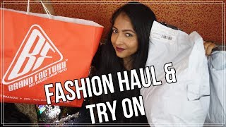 fashion haul try on brand factory romwe shein stacey castanha