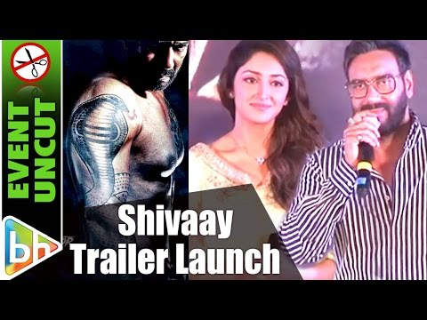Shivaay Official Trailer Launch | Ajay...