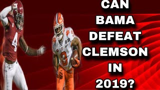 Can Alabama Defeat Clemson If They Match Up Next Season? | Interview With Clint from Locked On Bama Video