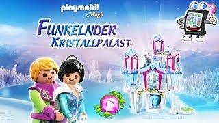 Playmobil KRISTALLPALAST App deutsch | WINTERPRINZESSIN IM EISSCHLOSS bekommt fliegendes Haustier