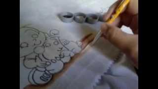 Dicas Artes da Ju Baby – PINTANDO CHÃO DE AREIA