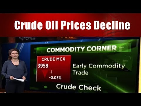 Crude Oil Prices Decline; Gold & silver Follow the trend || Commodity Trading || CNBC TV18