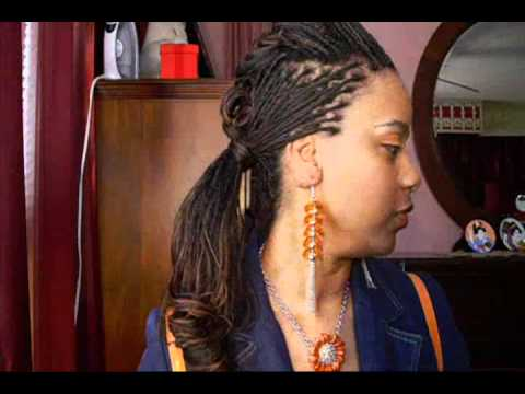 Microbraids Hump With Side Ponytail Not A Tutorial