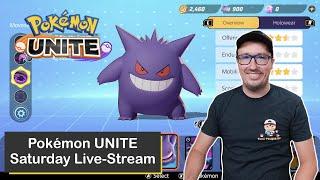 Saturday Streaming of Pokémon UNITE on Nintendo Switch