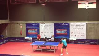Jaime Vidal - Dani Torres (Spanish Table Tennis Superdivision 2013/14) Set 3 of 3