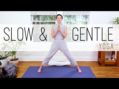 Yoga For Seniors Slow And Gentle Yoga Youtube
