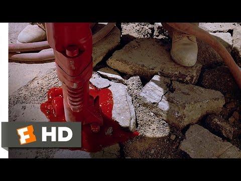 Tremors (3/10) Movie CLIP - Bloody Jackhammer (1990) HD