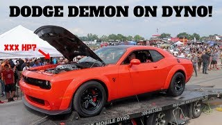 Dodge Demon On The Dyno! It Made Great Power! *Impressed*