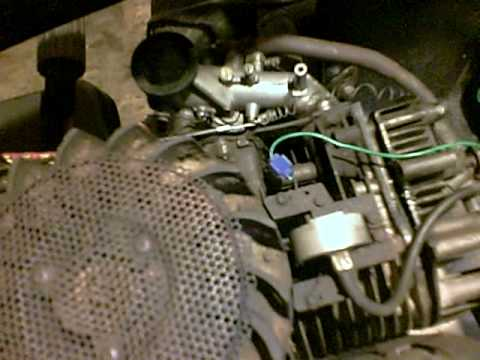 Lawn Mower Gas Pedal And Tach How I Did Mine