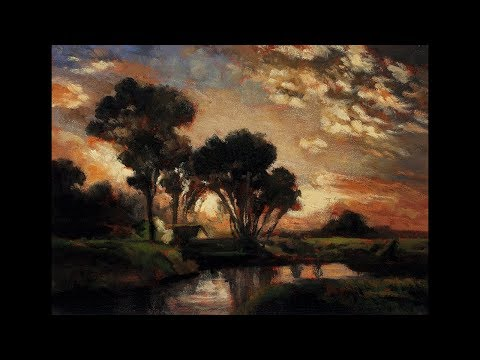 Study by M Francis McCarthy after Medfield Massachusetts by George Inness