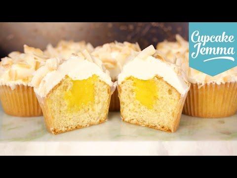 Generate Mango Filled Coconut Cupcake Recipe | Cupcake Jemma Screenshots