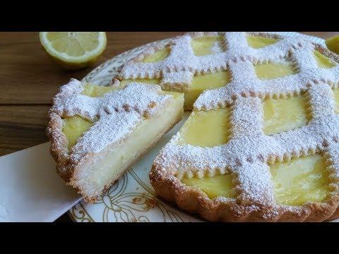 Crostata alla crema di limoni, RICETTA PERFETTA e FACILE