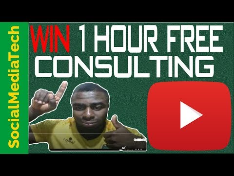 One Hour Free Youtube Consulting - How To Do Contests & Giveaways On Youtube