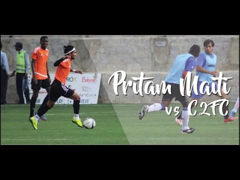 New Talent | Pritam Maiti VS  C2FC | Highlights | Bangalore | 2017