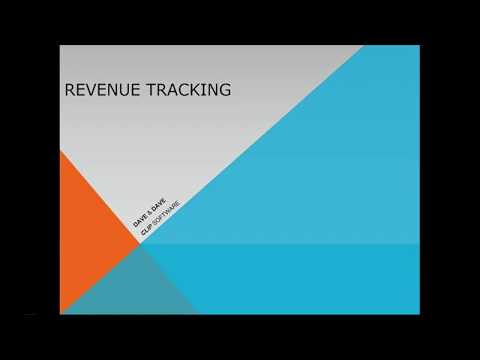 Revenue Tracking 2017