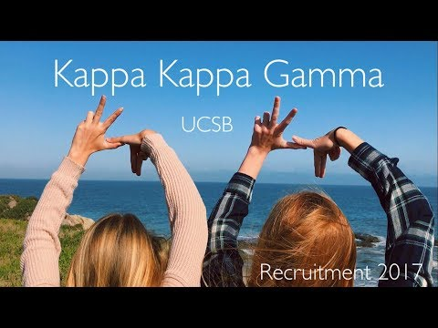 UCSB Kappa Kappa Gamma Recruitment 2017