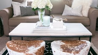 Home Styling: The Coffee Table